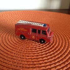 MATCHBOX Series No. 57 - LAND ROVER FIRE TRUCK - Made in England by Lesney