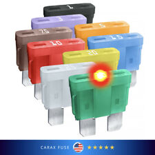 Assortment Standard size blade Fuses ATO ATC ATP LED indicator GLOW WHEN BLOWN
