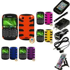 For BlackBerry Bold Touch 9900 9330 Hybrid Hard Soft Armor Case Accessories