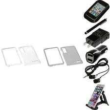 For Motorola Droid 3 XT862 Crystal Hard Snap-On Transparent Case Accessories