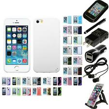 For Apple iPhone 5/5S/SE TPU Hard Case Skin Phone Cover Accessories