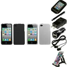 For Apple iPhone 4/4S Snap-On Hard Case Phone Cover Skin Accessory Accessories