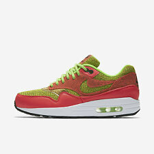 Nike WMNS Air Max 1 SE [881101-300] NSW Running Ghost Green/Hot Punch-White