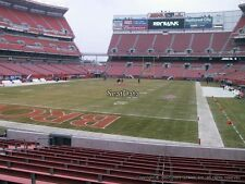 2 Cleveland Browns Season Tickets 2017 LOWER DAWG POUND ROW 9 near aisle