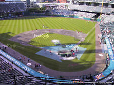 2 tickets Indians vs Rangers Wednesday 6/28 Section 456 Row A - Front row!