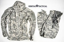 New ECWCS USGI GEN III LEVEL 5 JACKET & PANTS ACU MEDIUM  / REGULAR