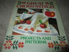 Great Cross Stitch Projects & Patterns HB Rose Flowers Sampler