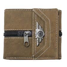 New Mens Canvas Credit Card Note Holder Wallet Purse ID Trifold Wallets