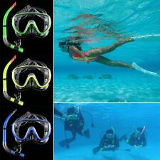 Adult Swimming Mask Diving Equipment Anti Fog Goggles Scuba Mask Snorkel Glasses