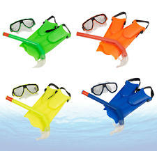 Divers Kids Mask & Snorkel SET DIVE Snorkelling Silicone Swimming Pool Equipment