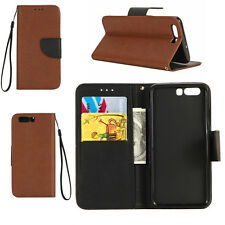 Luxury Magnetic Flip PU Leather Wallet Card Holder Stand Case Cover For Huawei