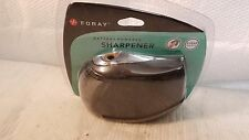 BLACK FORAY BATTERY POWERED PENCIL SHARPENER 489-285 CARBON HARDENED STEEL MILL