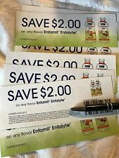 Nine 2.00 off any flavor Enfamil Enfalyte Coupons! 18.00 Value!