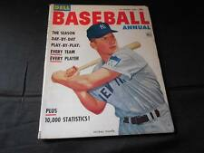 Vintage 1953 Vol 1 # 1 Dell Baseball Annual Magazine Mickey Mantle First Issue