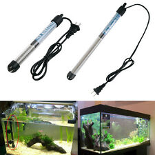 Aquarium Adjustable Water Heater Rod Submersible Thermostat Tropical Fish HT