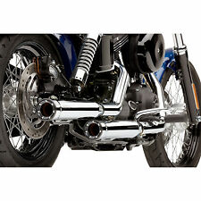Cobra Slip-on Muffler Performance for Harley-Davidson 1801-0719 Natural Tapered