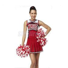 Girls Cheerleader Costume High School Fancy Dress Uniform Party Outfits