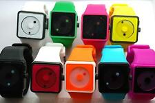 NEWTON STYLE - SILICONE /PLASTIC COLOURFUL WRIST WATCH  - COOL - NEW
