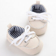 Baby Leather Sneakers Newborn Boy Girl Soft Crib Shoes Infant Kids First Walkers