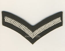 NEW BRITISH ARMY SURPLUS No.2 OLIVE LANCE CORPORAL STRIPES,SEW ON PATCH,CHEVERON