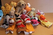 IKEA VARIOUS SOFT PLUSH TOYS  ANIMALS AND PUPPETS MULTI LISTING - YOU CHOOSE