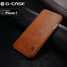 Genuine G-Case For Apple iPhone 7 Plus  Slim Leather Flip Wallet Card Case Cover