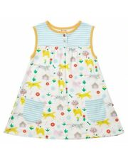 PICCALILLY ORGANIC COTTON GIRLS DRESS