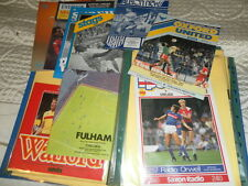 CHELSEA  AWAY PROGRAMMES FROM 1985/6 - CHOOSE FROM LIST