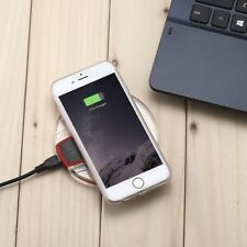 iPhone Wireless Charger - Receiver Case for 6, 7 Plus + Qi Charging Pad