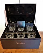 Waterford Crystal Connoisseur Heritage Tumblers x 6 DOF Verre BRAND NEW IN BOX