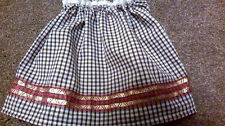 NEW REPLACEMENT SKIRT TO FIT A GABRIELLE AUNT LUCY BEAR various colours