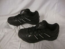 Adidas Black Spinner 7 Low Baseball Cleats Men Size  New In Box 113873