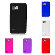 For Motorola Droid Bionic Case Silicon Gel Rubber Soft Flexible Phone Cover