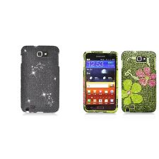 For Samsung Note i717 N7000 Case Diamond Bling Luxury Fashion Cute Hard Cover