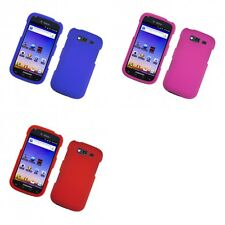 For Samsung Galaxy S Blaze 4G T769 Hard Snap-On Rubberized Phone Skin Case Cover