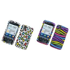 For Pantech Flex P8010 P9090 Hard Phone Case Design Rubberized Snap-On Cover