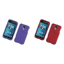 For Kyocera Hydro Edge C5215 Hard Snap-On Rubberized Phone Skin Case Cover