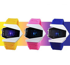 Multi-function Unisex Electronic Aircraft Wrist Lover Colorful LED Sport Watch F