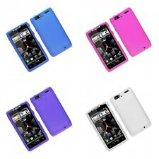 For Motorola Droid Razr Maxx Hard Snap-On Rubberized Phone Skin Case Cover
