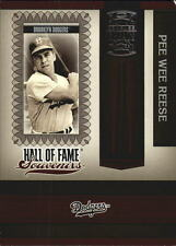 2005 Donruss Greats Hall of Fame Souvenirs #8 Pee Wee Reese