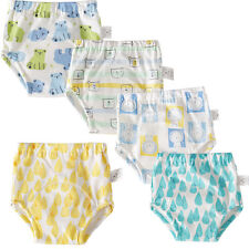 Baby Reusable Nappies Newborns 6 Layers Breathable Potty Training Pants 5 Pcs