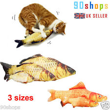 2017 UK Nature Pet Kitten Cat Mint Play Toys Coated with Catnip Grass Fish Shape