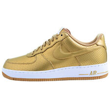 Nike Women Air Force 1 One LV8 GOLD EDITION Shoes Women's Sneakers gym shoe new