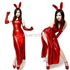 Adult Girls Sexy Bunny Party Cosplay Women Halloween Costume Fancy Dress Outfit