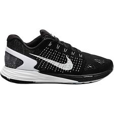 Nike Lunarglide 7 Womens Size Running Shoes Black White Anthracite 747356 001