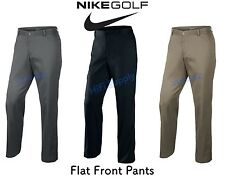 Nike 597323 Relaxed Fit Mens Flat Front Golf Pants Dress Slacks, Many Size/Color