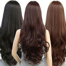 Women Long Wavy Full Wig Curly Heat Resistant Hair Cosplay Party Lolita Grace
