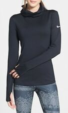 Nike NEW Black Womens US Size XS Cowl Neck Dri-Fit TopActive Apparel $65 100