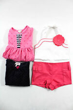 Le Top Juicy Couture Janie & Jack Girls Lotted Clothes Size 12-18 M 18 M