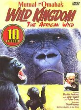 NEW Mutual of Omahas Wild Kingdom - The African Wild (DVD, 2005, 3-Disc Set)